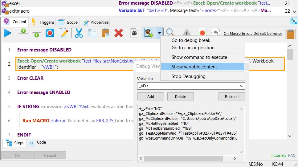 Macro ToolWorks screenshot